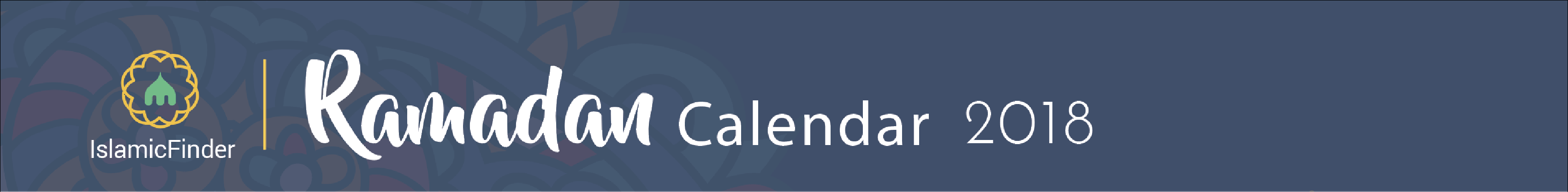 mountain view ramadan calendar 2018