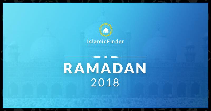 ramadan 2018 fasting times sehr iftar calendar islamicfinder