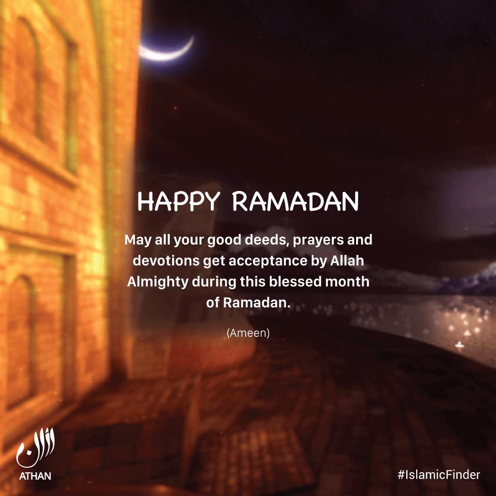Ramadan Mubarak Wishes 4  IslamicFinder
